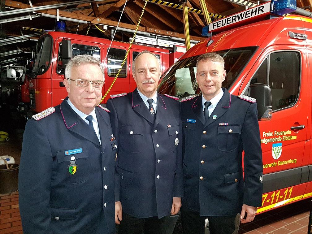 Wolfgang Düver und Klaus Dieter Spörk sind nun Ehrenmitglieder