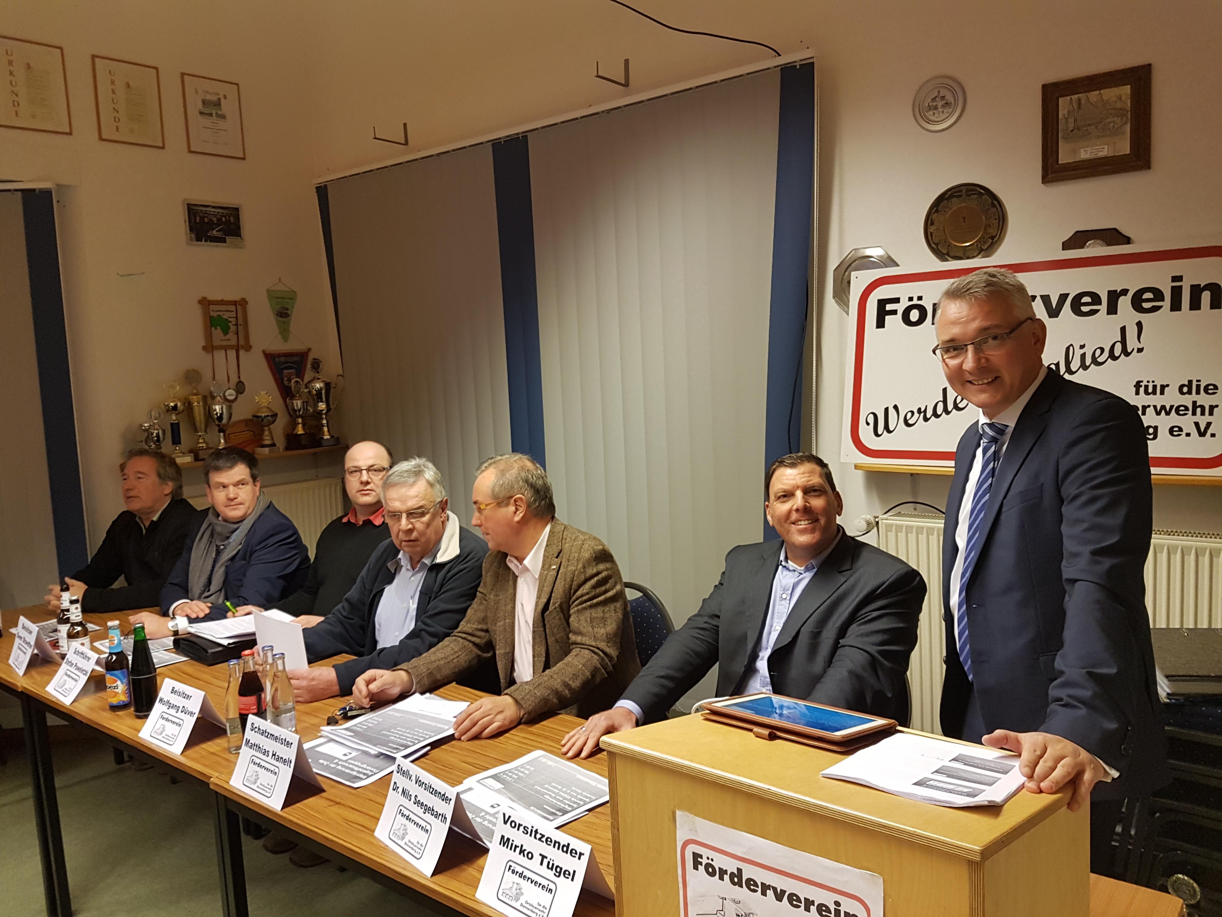 Zehn Jahre Förderverein für die Ortsfeuerwehr Dannenberg e.V.