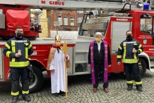 Unterstützung der Kirche zur Aussendung des Friendslichtes