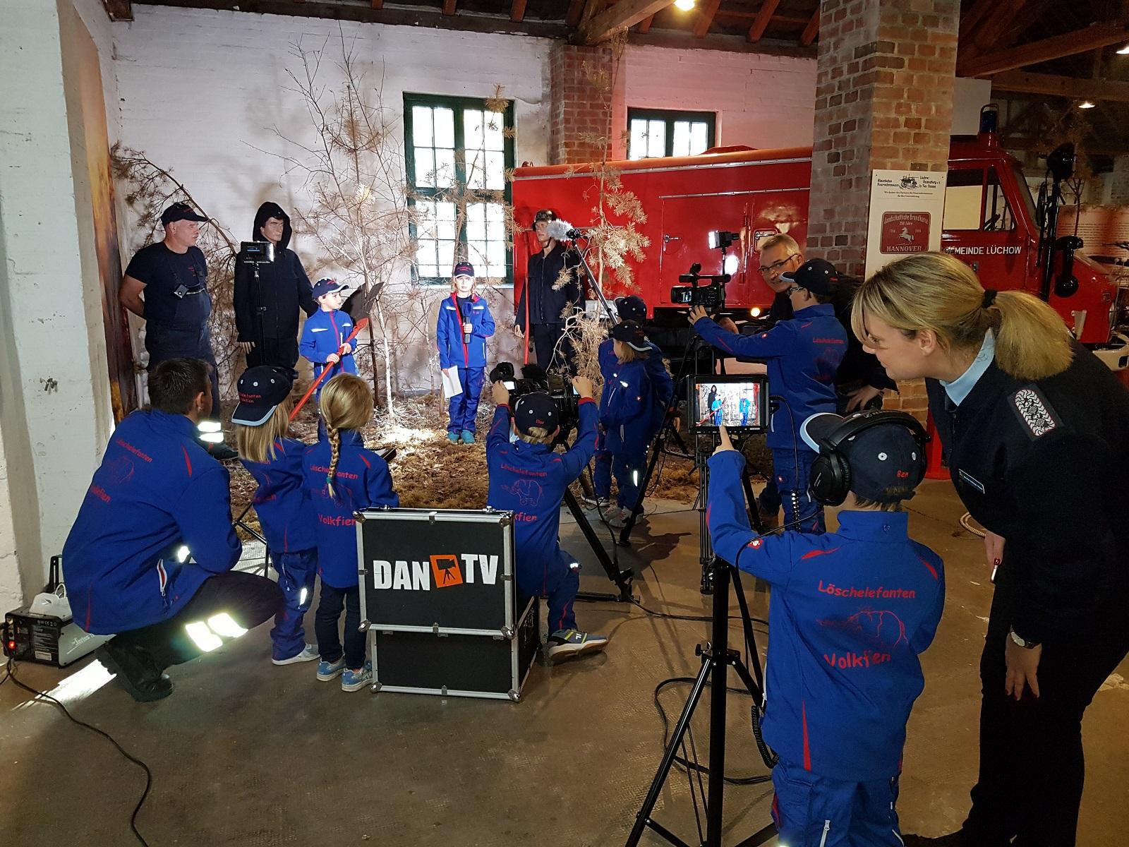Das Feuerwehrmuseum in Neu Tramm wird multimedial gestaltet