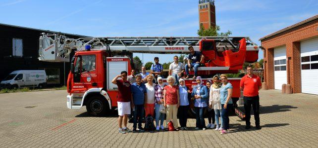Besuchergruppe des LEB Bildungszentrum Dannenberg zu Gast